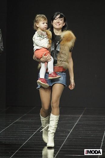 Коллекция Мирославы Лерман, Volvo-неделя моды в Москве. Фотографии Натальи Лапиной.
