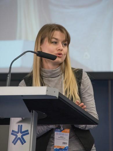 Юлия Дивнич Фотография Ирины Щелкуновой, предоставлена Союзлегпромом