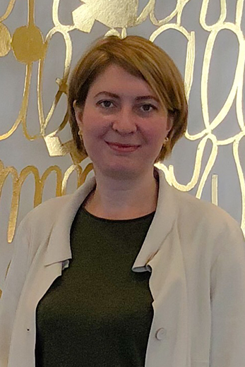 Ольга Даниленко, компания «Дубль В» (Kurz). Фотография предоставлены организаторами выставки Sport Casual Moscow