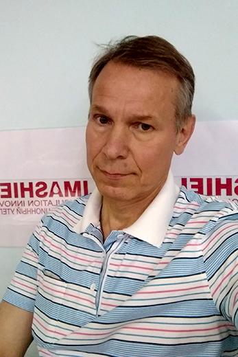 Михаил Петров, компания «Эль-текс». Фотография предоставлена организаторами выставки Sport Casual Moscow
