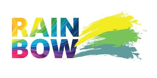логотип радуга: