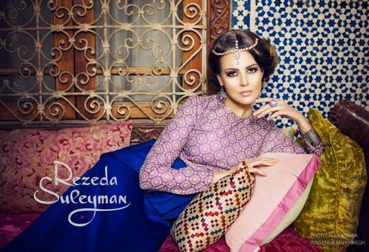 Коллекция Rezeda Suleyman, фотографии Аля Кишек