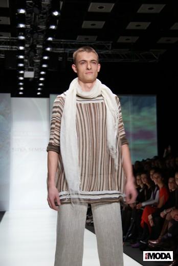 Перуанский дизайнер Ситка Семшич представила коллекцию сезона весна-лето 2012 на MBFWR