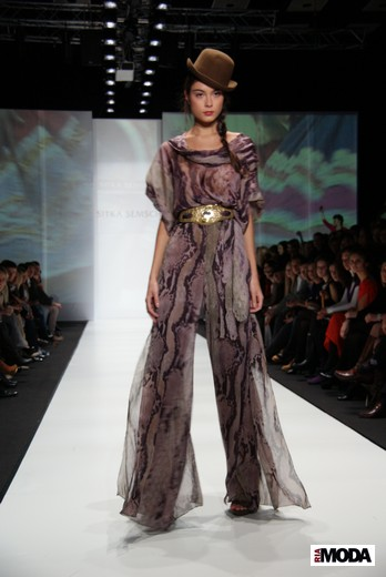 Перуанский дизайнер Ситка Семшич представила коллекцию сезона весна-лето 2012 на MBFWR - b