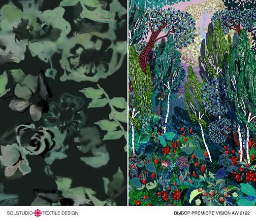 Solstudio_Blurry_Neatness_2_riamoda Solstudio Textile Design успешно освоила виртуальный выставочный формат | Портал легкой промышленности «Пошив.рус»