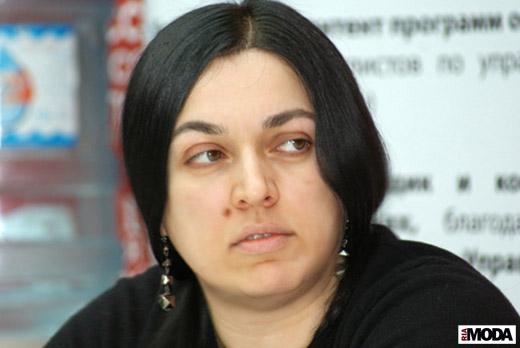 Татьяна Кулахметова, аналитик моды. Фотография Валентины Кузнецовой, ИА «РИА Мода»
