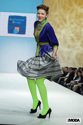 Коллекция студии Teplitskaya Design «Шум дождя». Фотографии Натальи Лапиной (Бухониной), ИА «РИА Мода».