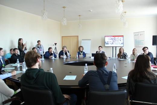 Круглый стол «FashionNet: модная индустрия и современные технологии». Фотография предоставлена Фондом «Ульяновск - культурная столица»