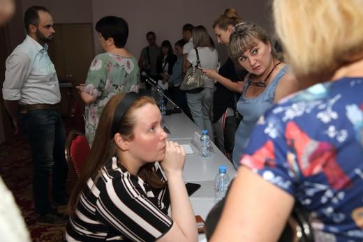 Участники круглого стола по маркировке. Фотография Натальи Бухониной, предоставлена организаторами SCM
