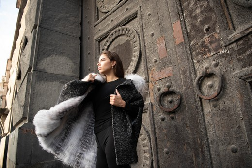 Коллекция «Дорогами сновидений».Фотография  представлена Модным домом «Зима»