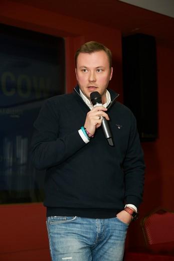 Илья Галкин, директор по продажам Luhta Fashion Group. Фотография Натальи Бухониной, предоставлена организаторами SCM
