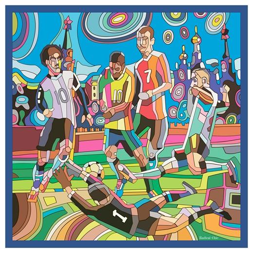 Платок «Легенды футбола». Изображение предоставлено брендом Radical Chic