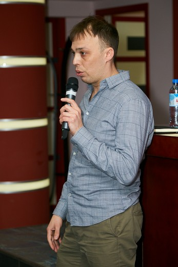 Владислав Ивашкин, руководитель отдела продаж ООО «Баск». Фотография Натальи Бухониной, предоставлена организаторами SCM