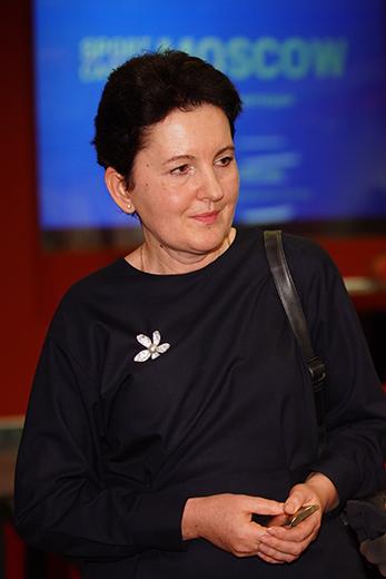 Елена Буларга, компания «ЛБЛ Принт». Фотография предоставлена организаторами выставки Sport Casual Moscow