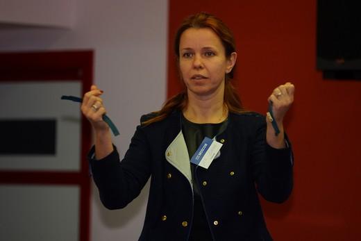 Елена Ильяшенко, компания YKK. Фотография предоставлена организаторами выставки Sport Casual Moscow