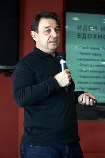Алексей Кошенков, текстильное агентство Creastele. Фотография предоставлена организаторами выставки Sport Casual Moscow