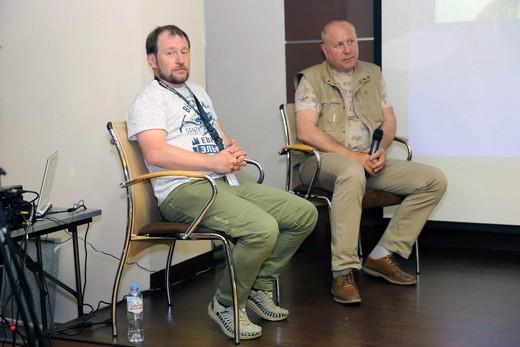 Сергей Федоров и Андрей Жаринов (слева на право), фотография Натальи Бухониной. Фотография предоставлена организаторами SCM.