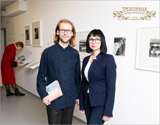 Хайко Шефер и Татьяна Батеева. Фотография предоставлена Трехгорной мануфактурой.