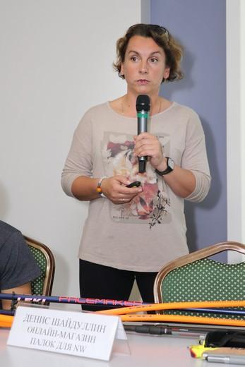 Елена Книжникова. Фотография Натальи Бухониной, предоставлена организаторами SCM