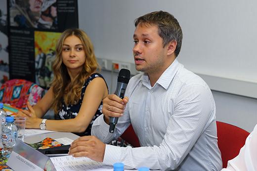 Георгий Суменков и Руслана Кузнецова, фотография Натальи Бухониной, предоставлено организаторами SCM