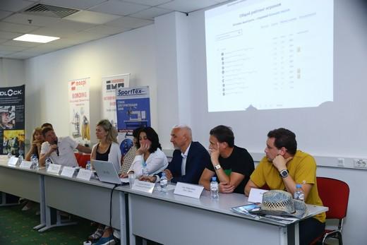 Круглый стол «Спонсорство спортивных событий как способ повышения продаж спортивного бренда», фотография Натальи Бухониной, предоставлена организаторами SCM