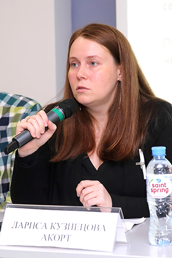 Лариса Кузнецова, Фотография Натальи Бухониной, предоставлена организаторами выставки Sport Casual Moscow