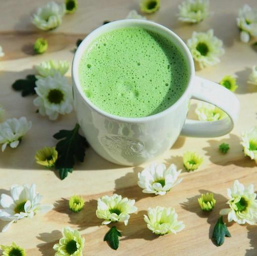 «Маття чай латте». Фотография предоставлена  компанией Starbuck