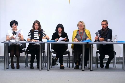 Брифинг жюри. Фотография Натальи Бухониной, официального фотографа конкурса «Экзерсис»