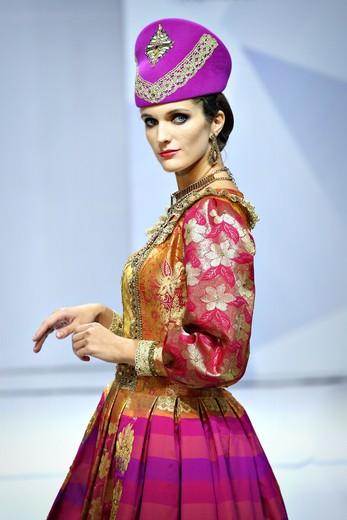 Коллекция Вячеслава Зайцева. Фотография Натальи Бухониной, ИА «РИА Мода».