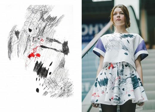 Коллекция  дизайнеров Ксении Новиковой и Дарьи Растуниной. Фотография предоставлена дизайнерами