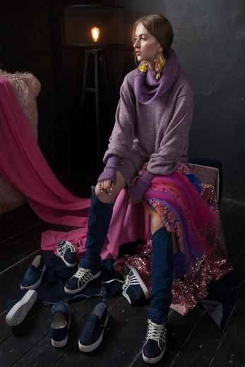 Коллекция Арины Диулиной «Мой белый день». Фотография предоставлена дизайнером