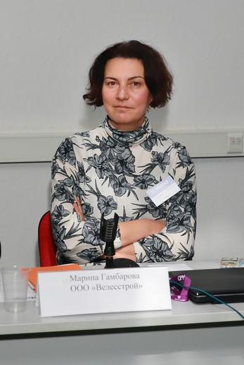 Марина Гамбарова. Фотография Натальи Бухониной. Предоставлена организаторами SCM