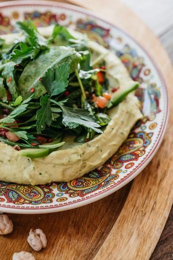 Хумус от Laffa Laffa. Фотография предоставлена заведением.