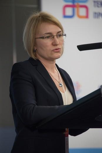 Оксана Лукичева. Фотография Ирины Щелкуновой, предоставлена Союзлегпромом