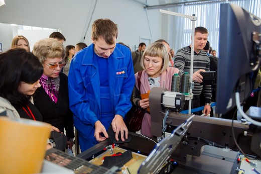 Компании «Обувь России» и Orisol открыли совместный учебный центр. Фотография с сайта компании «Обувь России»
