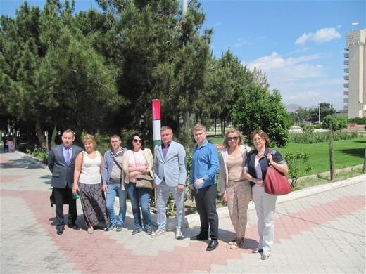 Участники бизнес-тура в Таджикистан. Фотография предоставлена организаторами бизнес-тура