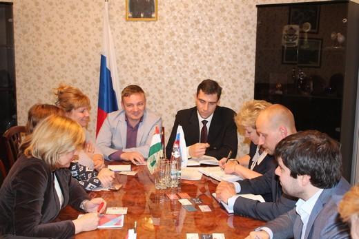 Встреча в Торгпредстве РФ в Таджикистане. Фотография предоставлена организаторами бизнес-тура