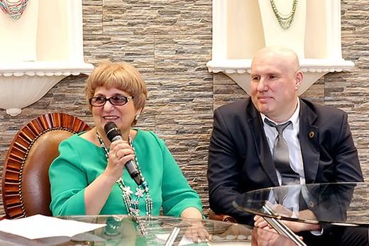 Наталья Мельянова и Андрей Чечеткин. Фотография представлена организаторами Estet Fashion Week