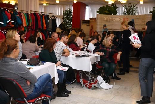 Презентация бренда Didriksons1913. Фотография Натальи Бухониной предоставлена организаторами выставки K&JF
