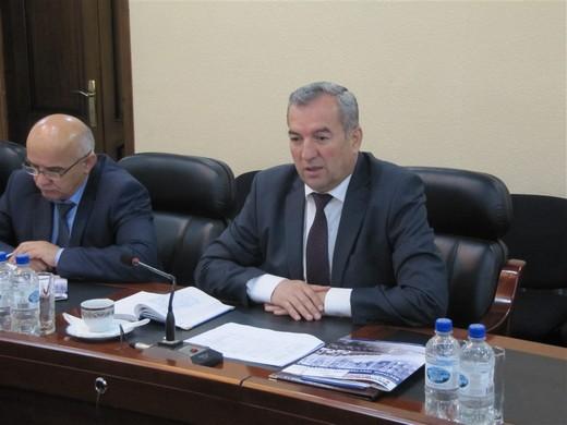 Министр промышленности и новых технологий Таджикистана господин Шавкат Бобозода. Фотография предоставлена организаторами бизнес-тура