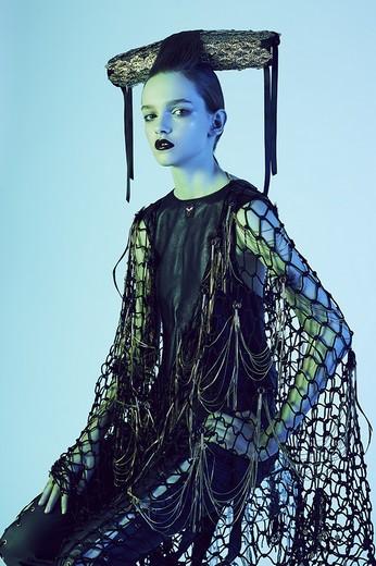Фотография костюма и головного убора бренда  YanaMarkova фотографа Алены Косминой