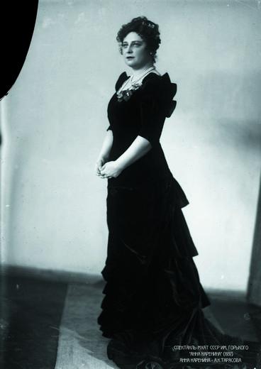 «Анна Каренина» (1937). Анна Каренина - Алла Тарасова. Фотография предоставлена организаторами выставки