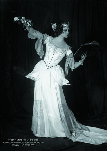«Мольер» («Кабала святош»), 1930. Арманда - Ангелина Степанова. Фотография предоставлена организаторами выставки