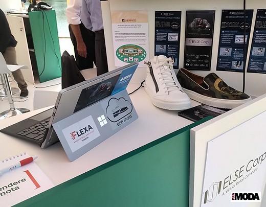 Стенд компании ELSE Corp. в итальянской экспозиции на выставке Startup Bazaar. Фотография предоставлена компанией