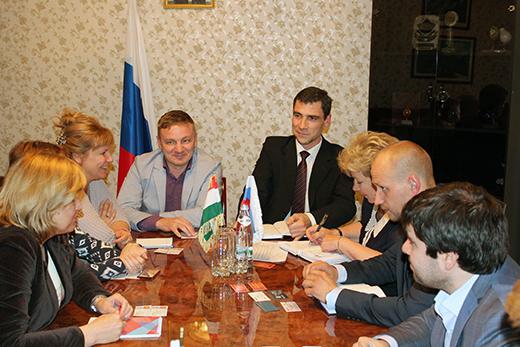 В торгпредстве РФ в Таджикистане. Фотография предоставлена организаторами бизнес-тура