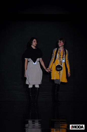 20101106, гала-показ финалистов XVI Международного конкурса молодых дизайнеров «Адмиралтейская игла 2010». Фотографии Андрея Ревенко, ИА «РИА МОДА».