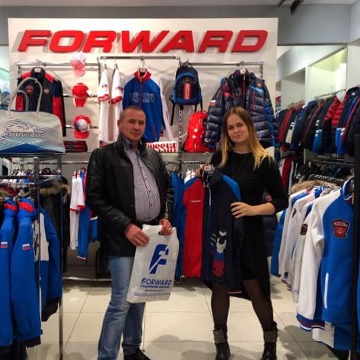 Компания «Форвард» с 2003 года является официальным поставщиком спортивной  формы для сборных команд России. При партнерстве с Центром экипировки  Forward ... d636b0b9619
