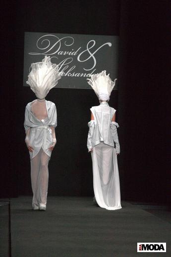 Давид и Александр представили новую коллекцию на Mercedes-Benz Fashion Week Russia -2