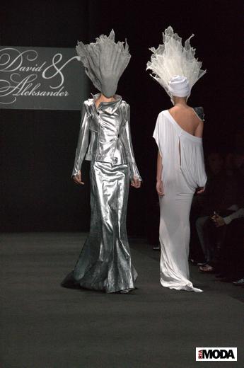 Давид и Александр представили новую коллекцию на Mercedes-Benz Fashion Week Russia - 3