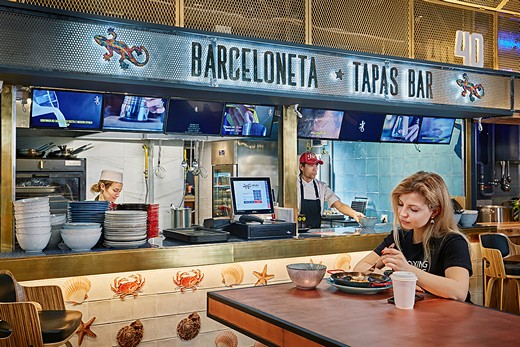Barceloneta Tapas Bar. Фотография предоставлена холдингом London Restaurant Group